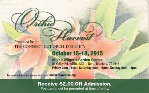 2015 Orchid Harvest Card