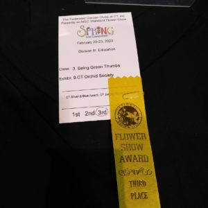 Look!! We won 3rd Place for our display at the Hartford Show!!!! Congrats all!